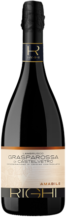 Lambrusco Grasparossa di Castelvetro DOC Amabile Premium